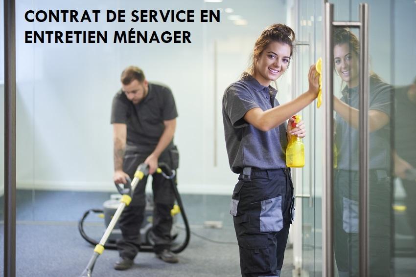 Contrat d'entretien ménager – Centre Frère-Moffet
